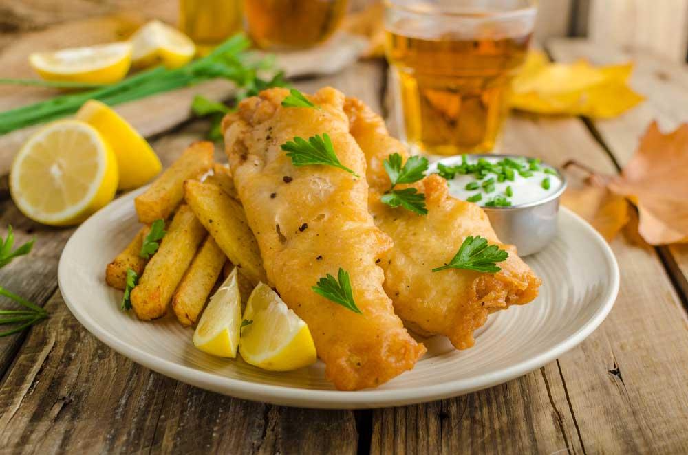 Beer-Battered Fish Air Fryer