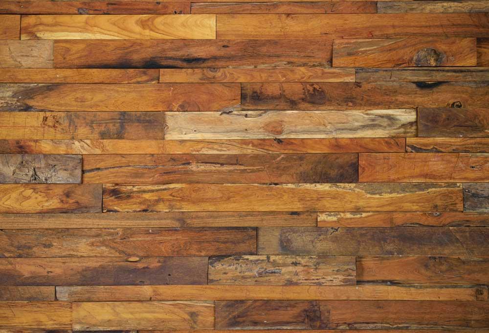 Stained and damaged hardwood floors